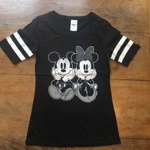 Minnie and Mickey short sleeve tee